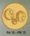Bilă Petanque PB15