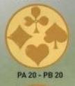 Cărţi de joc PA20