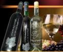 Gravură Laser în sticlă de vin